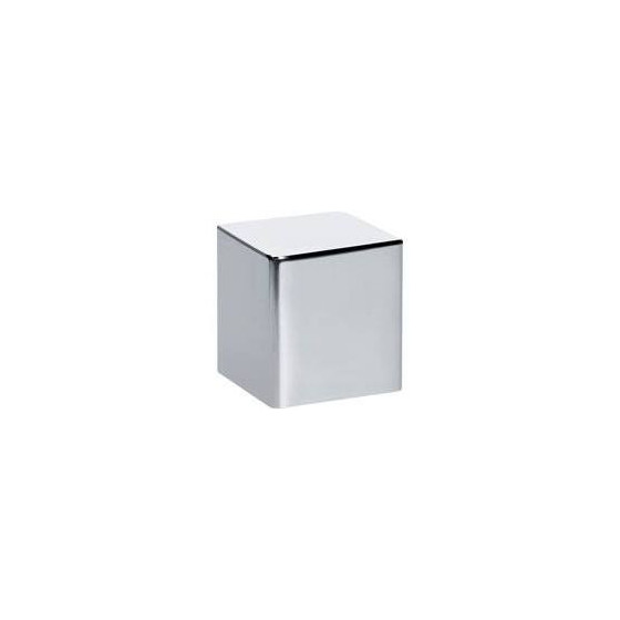Bouton rotatif cube Franke finition nickel brossé