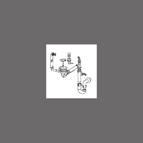 Franke Vidage Automatique pour évier 1 cuve synthèse